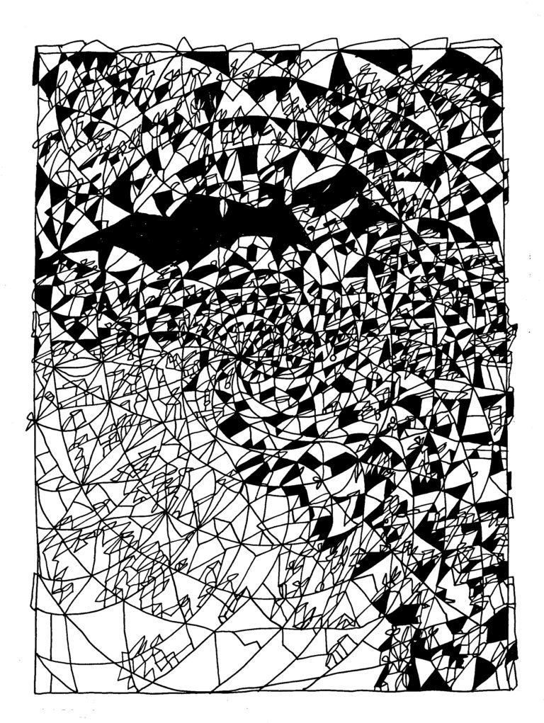 010 - grotingang in spiraalvormige rotsformatie