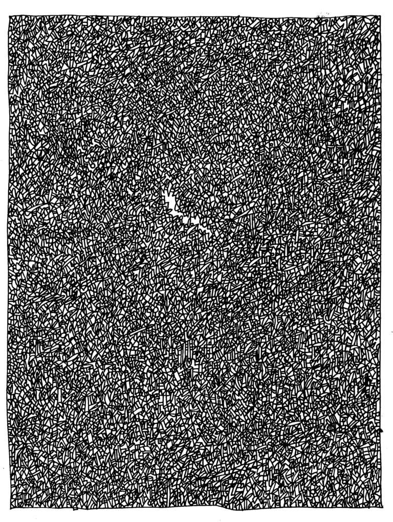 055 - ergens een gat in zien