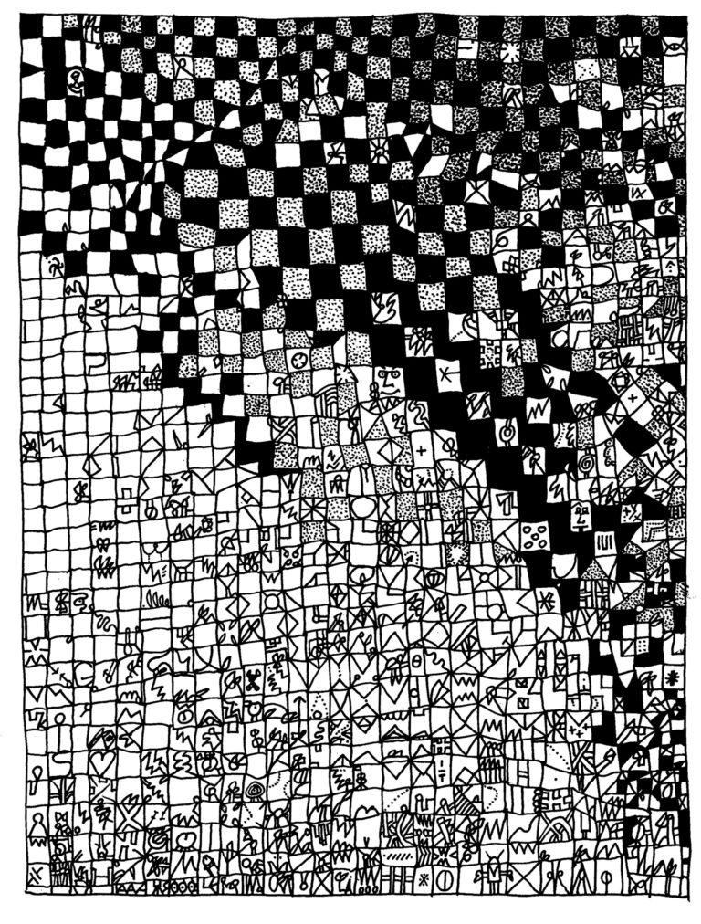 062 - nagenoeg verzadigde blokstructuur