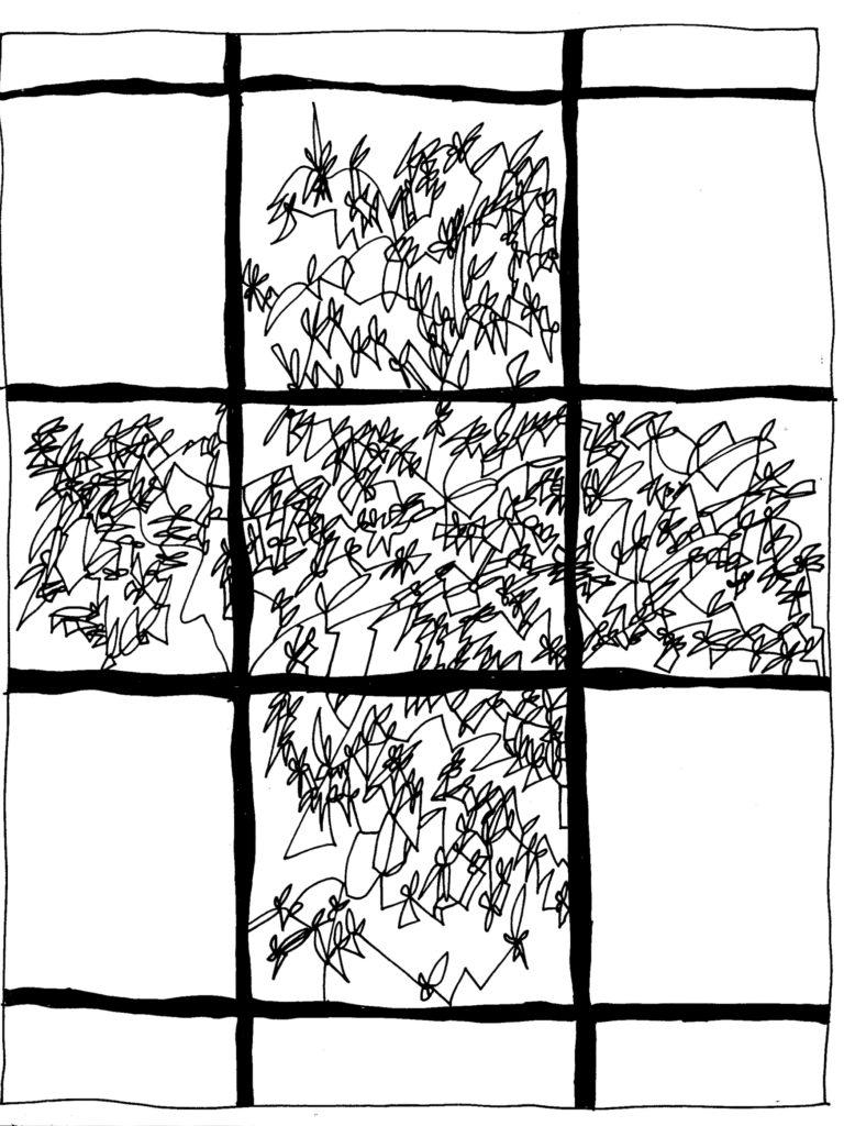 085 - schets voor plafond van Tan