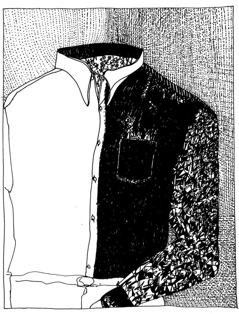 093 - schets voor shirt