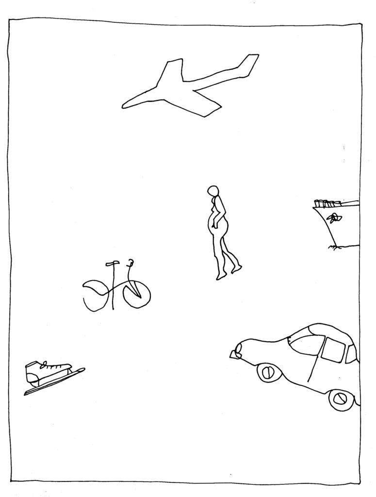 198 - diverse middelen van vervoer