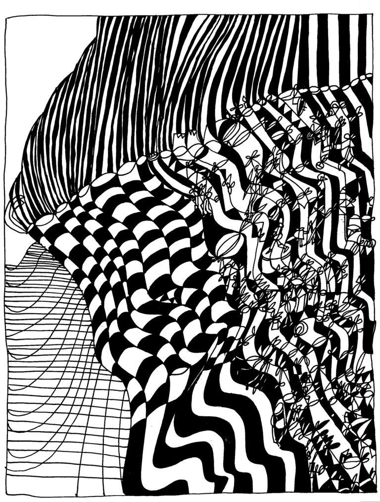 252 - een witte neger met steile krullen