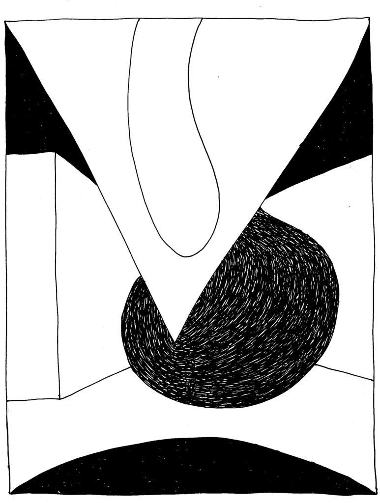261 - compositie met meetkundige vormen