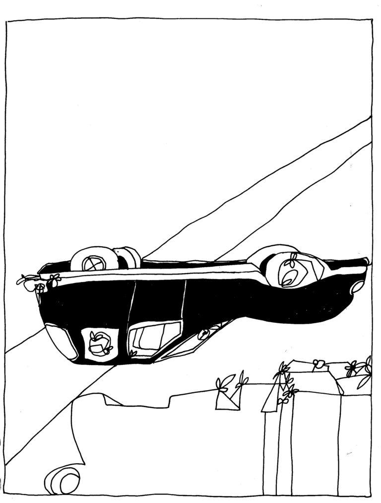 305 - een vooralsnog onverklaarbaar ongeval