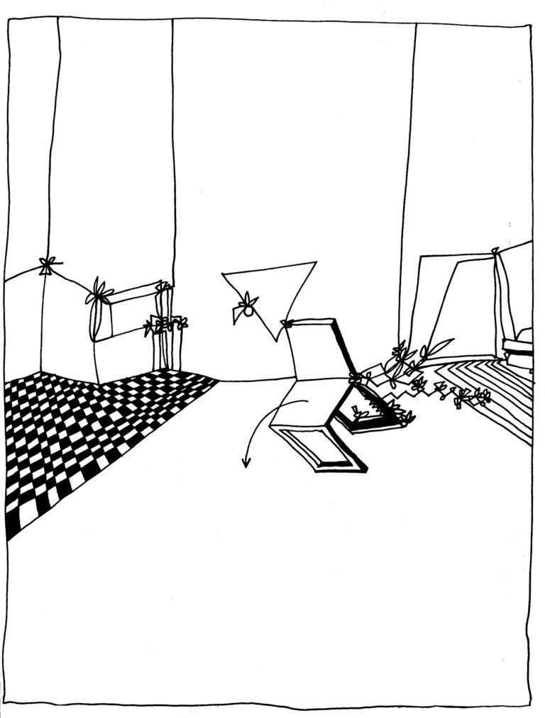 319 - ja Piet, een stoel die omvalt blijft een stoel